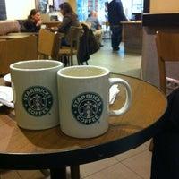 Photo taken at Starbucks by Julia V. on 3/10/2012