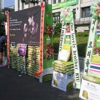 Photo taken at 연세대학교 대강당 응원단실 by Susie on 6/3/2012