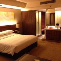 Photo taken at Hyatt Regency Kinabalu by Syahril S. on 2/22/2012