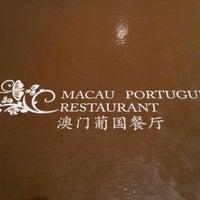 Photo taken at Macau Portuguese Restaurant by Ken C. on 3/3/2012