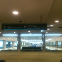 Photo taken at Concourse A by WOLFEAGLE I. on 6/27/2012