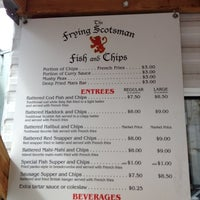 Photo taken at The Frying Scotsman by Jeroen V. on 4/16/2012