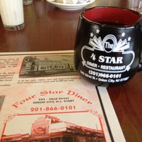 Photo taken at Four Star Diner Union City by Felipe P. on 3/17/2012