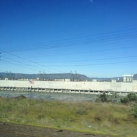 Photo taken at The Dalles Dam by Rachel S. on 4/14/2012