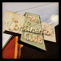 Photo taken at The Continental Club by Cary S. on 3/13/2012
