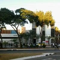 Photo taken at Pontifícia Universidade Católica de Goiás (PUC Goiás) by Bruno H. on 8/14/2012