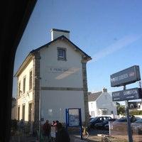 Photo taken at Gare SNCF de Saint-Pierre-Quiberon by thomas l. on 7/15/2012