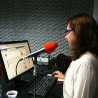 Photo taken at Rádio O POVO CBN Fortaleza FM 95.5 by Bosco C. on 4/20/2012