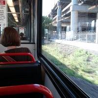 Photo taken at MetroLink - Stadium Station by Chris on 9/4/2012