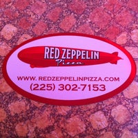 Photo taken at Red Zeppelin Pizza by G Michael B. on 3/21/2012