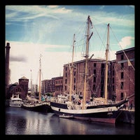 Photo taken at Albert Dock by Matthew S. on 9/1/2012