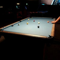 Photo taken at South First Billiards by Eric J. on 7/4/2012