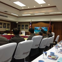 Photo taken at Provincial Police Region 8 by ก.จารฺ ส. on 5/24/2012