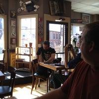 Photo taken at Crackskull's Coffee & Books by Leslie P. on 4/15/2012