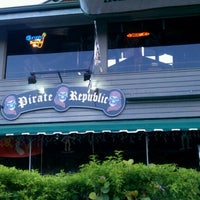 Photo taken at The Pirate Republic Seafood & Grill by Sean R. on 9/7/2012