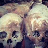 Photo taken at Tuol Sleng Genocide Museum by Thananon P. on 4/24/2012