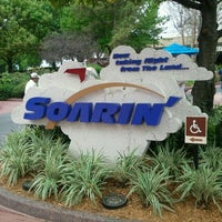 Photo taken at Soarin' by Tom G. on 2/19/2012