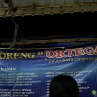 Photo taken at Nasi Goreng Ortega by Widodo C. on 9/1/2012