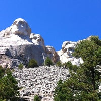 Photo taken at Mount Rushmore National Memorial by Nikki C. on 8/29/2012
