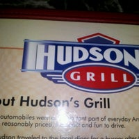 Photo taken at Hudsons Grill by Mary-Catherine Z. on 2/25/2012