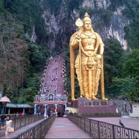 Photo taken at Batu Caves by Daniel S. on 8/26/2012