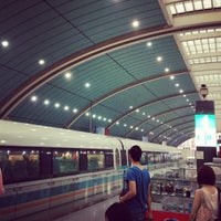 Photo taken at Maglev Train Longyang Road Station by ken_c_lo T. on 6/10/2012