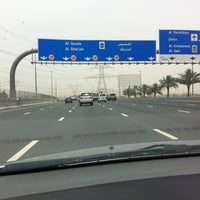 Photo taken at Sheikh Mohammed Bin Zayed Rd by Dette 🇵🇭 on 4/22/2012