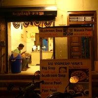 Photo taken at vignesh veg soup Shop by Prembharadwaj V. on 8/25/2012