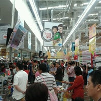 Photo taken at Carrefour by Ferdi Z. on 2/4/2012