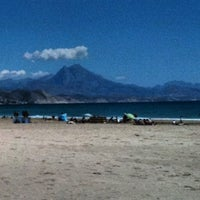 Photo taken at Playa de San Juan by Manuel V. on 4/29/2012