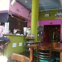 Photo taken at Jivamuktea Café by Nathan L. on 8/18/2012