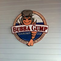 Photo taken at Bubba Gump Shrimp Co. by Jessica G. on 6/30/2012