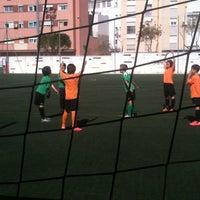Photo taken at Olimpica Victoriana Club de Futbol by Maite F. on 4/5/2012