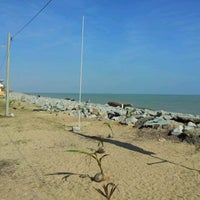 Photo taken at Pantai Cahaya Bulan (PCB) by Sofian S. on 2/23/2012