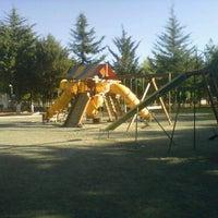 Photo taken at Parque Gral. Vicente Guerrero (Area de Juegos) by Sergio R. on 4/23/2012