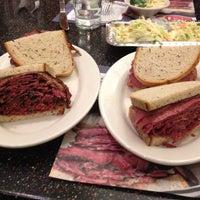 Photo taken at Ben's Kosher Delicatessen by Cory C. on 3/31/2012
