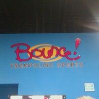 Photo taken at Bounce Trampoline Sports by Steven M. on 7/18/2012
