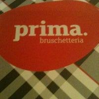 Foto tirada no(a) Prima Bruschetteria por Eliane M. em 5/11/2012
