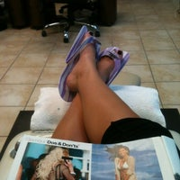 Photo taken at Bella Nails by Autumn L. on 4/25/2012