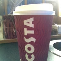 Photo taken at Costa Coffee by Ground Level S. on 4/25/2012