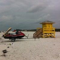 Photo taken at Siesta Key Beach by David B. on 6/6/2012