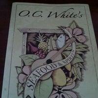 Photo taken at O.C. White's by Karen D. on 4/16/2012