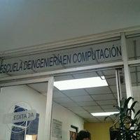 Photo taken at Escuela de Ingeniería en Computación by Cristhian A. on 3/12/2012