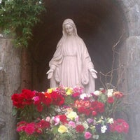 Photo taken at Mission San Buenaventura by Stephanie on 3/23/2012