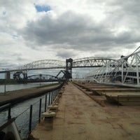 Photo taken at Sault Sainte Marie International Bridge by William M. on 8/28/2012