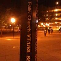 Photo taken at West Falls Church-VT/UVA Metro Station by Abdul Razak S. on 4/21/2012