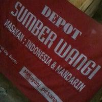 Photo taken at Depot Sumber Wangi (Masakan Indonesia & Chinese) by rizaldo d. on 8/1/2012