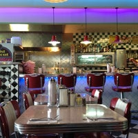 Photo taken at Greg and Amy's Twist and Shout 50's Diner by Joe M. on 7/12/2012