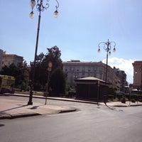 Photo taken at Piazza Libertà by Sonia on 8/16/2012