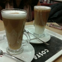 Photo taken at Costa Coffee by Julcsi N. on 2/28/2012